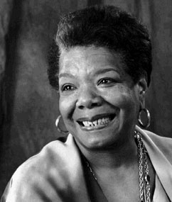 Maya Angelou ~ full of Life, as always