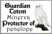 Minerva, Snowy Owl, bears witness to all Aquarian Zone activities, as resident Crone.